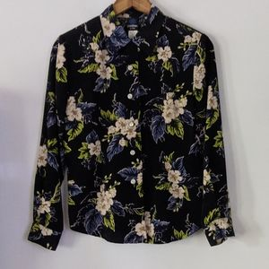 Vintage Panther Button Up Top